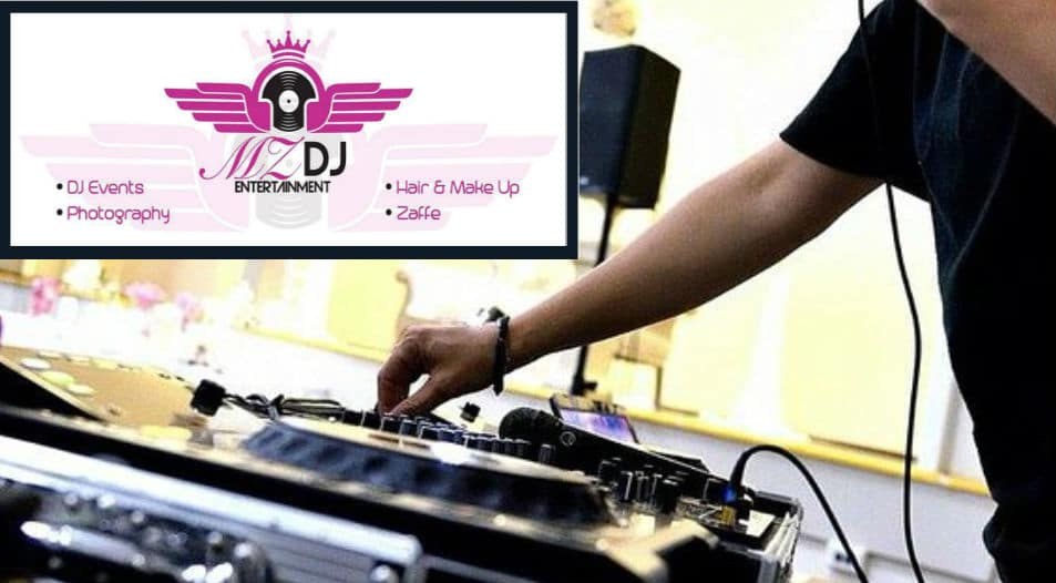 Arabian female DJ Sadia: Specialises in ladies only events.